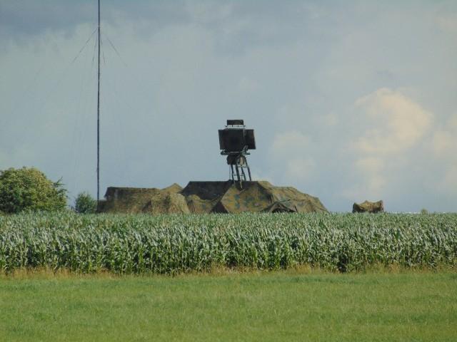 Tak wyglądały urządzenia wojskowe w okolicach Wąsewa
