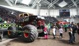 Monster Truck w Atlas Arenie. Ryk silników i urwane koło [ZDJĘCIA, FILM]