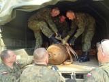 Bomba znaleziona w lesie ważyła tonę