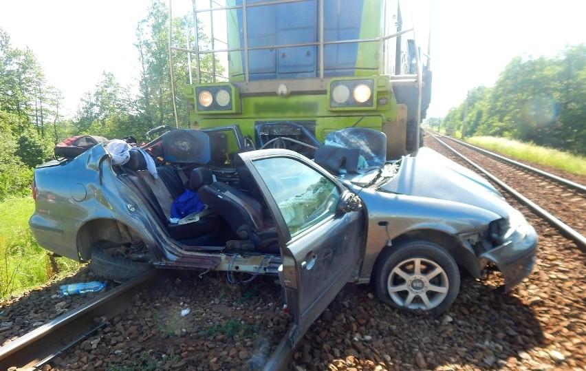Średnica- Maćkowięta. Tragiczny wypadek na przejeździe...