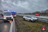 Tragedia na A2 pod Łowiczem. Jedna osoba nie żyje. Ruch na autostradzie odbywa się normalnie
