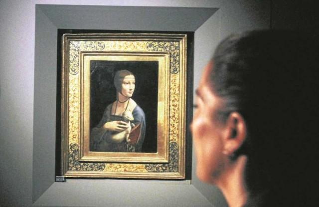 """""""Dama z gronostajem"""" w Muzeum Narodowym pojawi się 18 maja"""