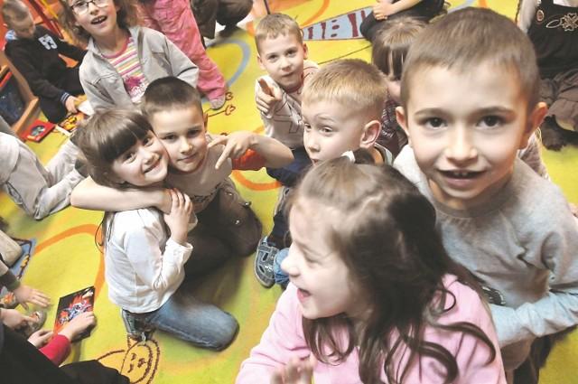 """- W przedszkolu jest super - mówią dzieci z ,,Misia Uszatka"""" w Zielonej Górze"""
