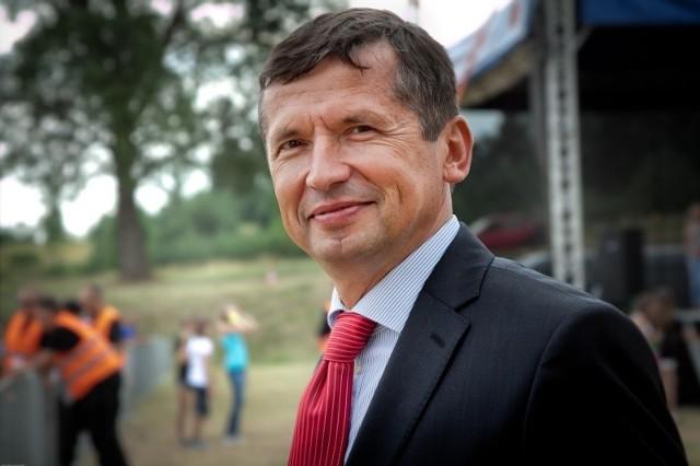 Mirosław Majchrowicz, dyrektor cementowni Małogoszcz.