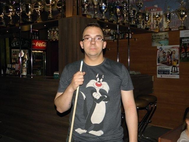 Krystian Tanasiewicz pewnie wygrał mecz o 1 miejsce.
