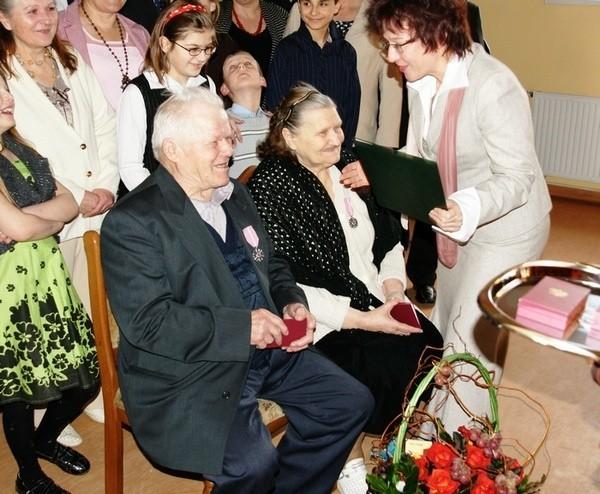 Jadwiga i Tadeusz Laskowie.