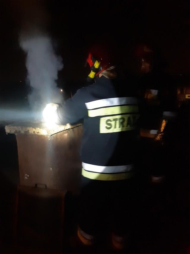Nocna akcja straży pożarnej w Mysłowicach