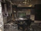 Pożar w Wąsowie - poparzony mężczyzna w ciężkim stanie trafił do szpitala [ZDJĘCIA]