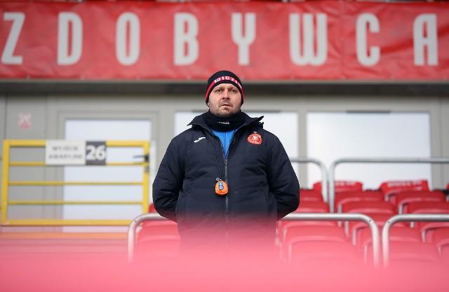 Trener Marcin Kaczmarek ubolewa nad tym, że na stadionie zabraknie kibiców