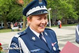 Nadinsp. Helena Michalak przechodzi na emeryturę po 24 latach w policyjnym mundurze. Była Komendantem Wojewódzkim Policji w Gorzowie Wlkp.
