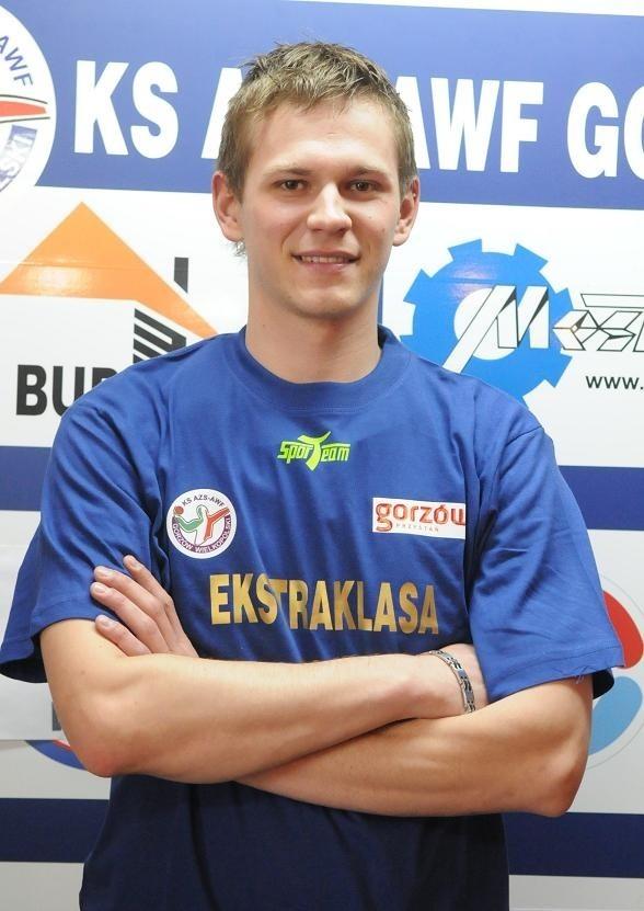 Jakub Tomczyk w obydwu meczach zdobył dla gorzowian po dwie bramki.