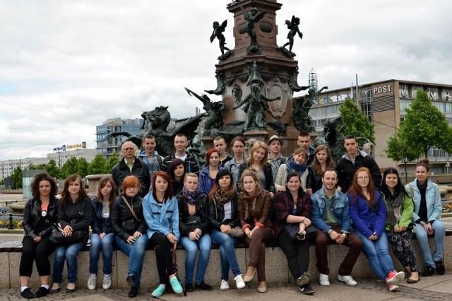 24 uczniów z Zespołu Szkół Ekonomicznych w Staszowie w wakacje odbywało praktyki w Niemczech