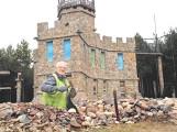 Wielki zamek z kamieni. Pan Jerzy wybudował go sam! [FOTO]