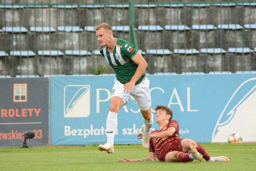Mikołaj Gabor strzelił gola dla Olimpii już w drugiej minucie meczu. Po przerwie GKS zdołał jednak wywalczyć trzy punkty