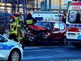 Tragiczny wypadek w Strzelinie. Nie żyje kierowca fiata (ZDJĘCIA)