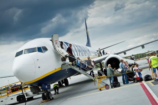 Z bydgoskiego lotniska lata m.in. Ryanair