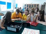 Uczniowie z Kowalk i Zakrocza na zajęciach z robotyki
