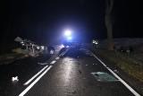 Tragiczny wypadek pod Nakłem nad Notecią. 16-letnia pasażerka bmw zginęła na miejscu