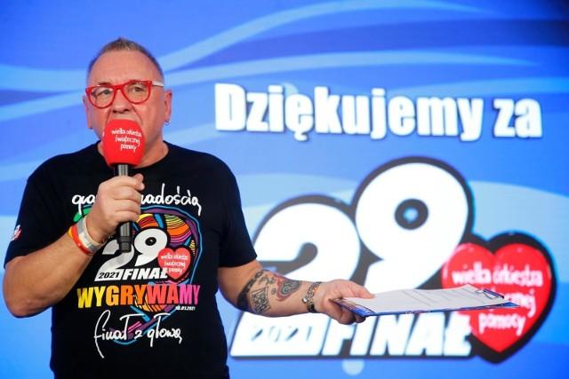 W poniedziałek, 29 marca po godz. 12.00, Jerzy Owsiak podsumował 29. Finał WOŚP.