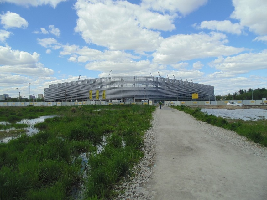 Stadion przy Krochmalnej.