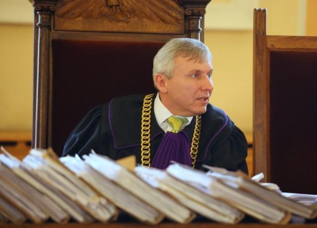 Sławomir Cyniak, wiceprezes Sądu Okręgowego w Piotrkowie, nie kryje zaskoczenia całą sprawą