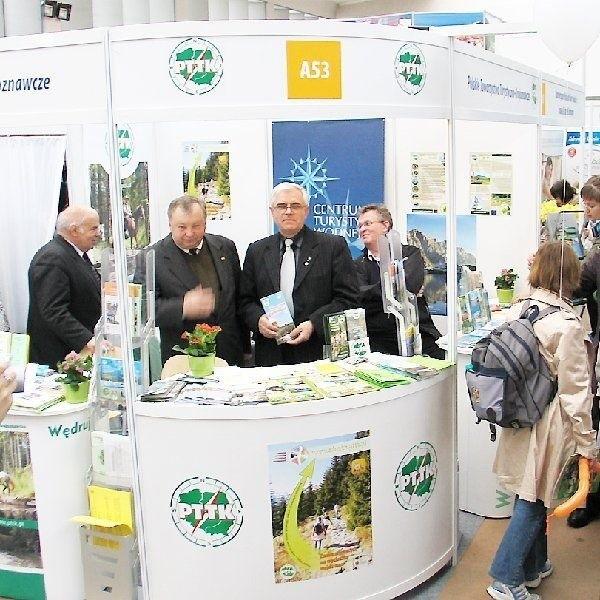 """Ponad 300 wystawców prezentowało się  podczas odbywających się w miniony weekend  w stolicy XIII Tragów Turystyki i Wypoczynku  """"Lato 2008""""."""