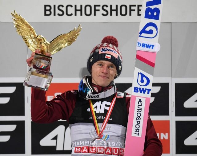 Dawid Kubacki to trzeci Polak, po Adamie Małyszu i Kamilu Stochu, który wygrał Turniej Czterech Skoczni