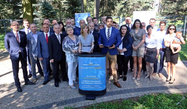 Koalicja Świdnik Wspólna Sprawa zainaugurowała kampanię wyborczą