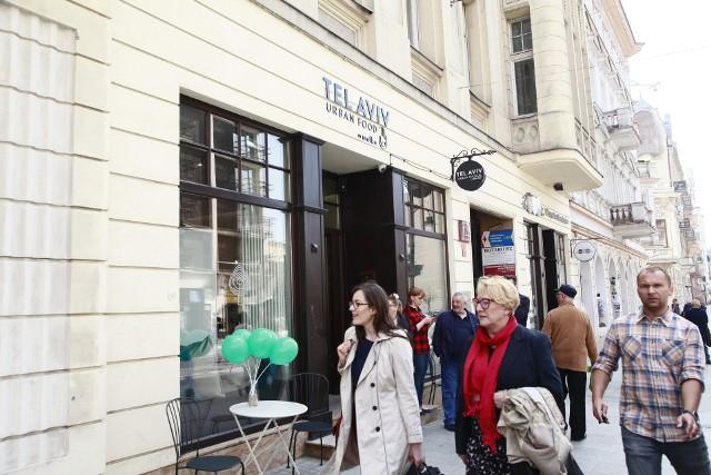 Nowa restauracja w Łodzi. Tel Aviv otwarty na Piotrkowskiej. Pierwsza restauracja sieci poza Warszawą