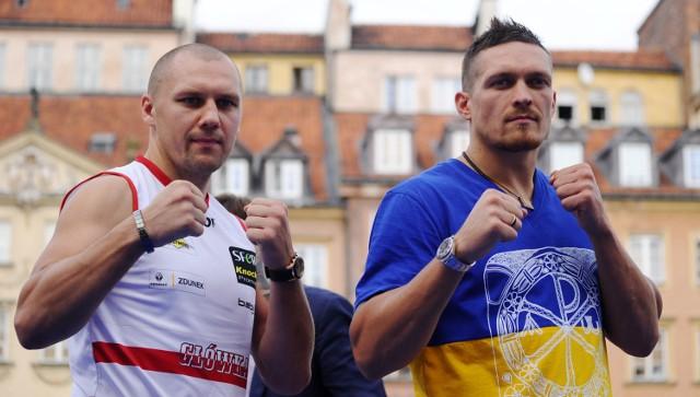 Dla Głowackiego (z lewej) będzie to pierwsza obrona mistrzowskiego pasa