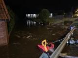 Powiat tarnobrzeski. Zalane posesje i drogi - strażacy walczyli ze skutkami gwałtownych, ulewnych deszczy (ZDJĘCIA)