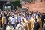 Procesja Bożego Ciała mimo trudnej sytuacji epidemiologicznej przyciągnęła tłumy wiernych