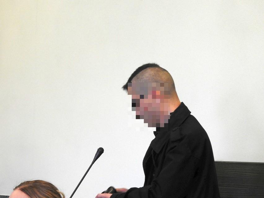 Wyrok skazujący wobec Daniela J. – który nie pojawił się w...