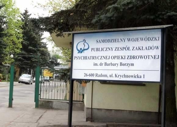 W szpitalu psychiatrycznym w radomskich Krychnowicach jest duże ognisko koronawirusa, zarażonych jest ponad 100 pacjentów i część personelu.