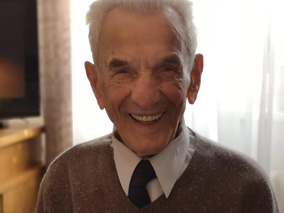 Pan Stanisław Kowalski ma już 110 lat. Wszystkiego najlepszego!