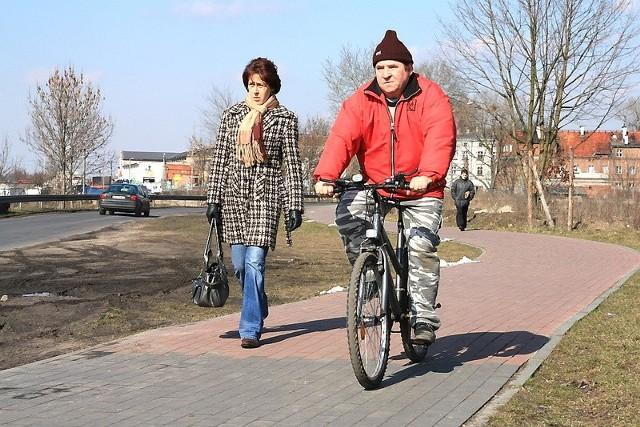 Tylko na ścieżkach rowerzyści mogą czuć się bezpiecznie