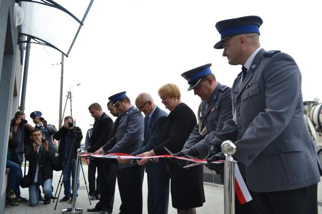 Komisariat policji w Krzyżanowicach otwarty po remoncie
