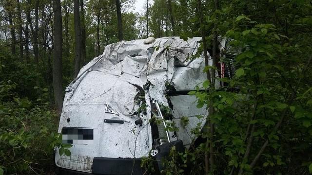 Wypadek pod Kaszewcem 10.05.2019