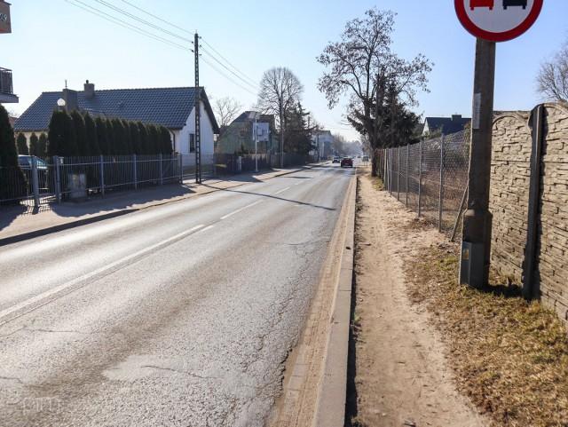 Przy Złotowskiej będzie wybudowana droga rowerowa z chodnikiem