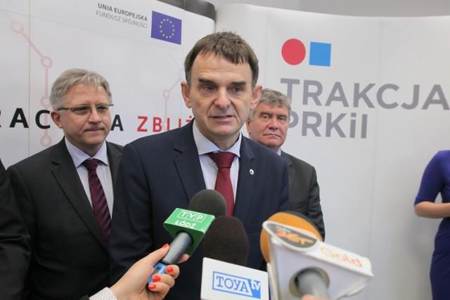 Prezes Andrzej Wasilewski jest dumny z tegorocznych nagród, otrzymanych na Targach Trako, bo prestiżowej nagrody im. inż. Józefa Nowkuńskiego nie dostał wcześniej żaden przewoźnik kolejowy