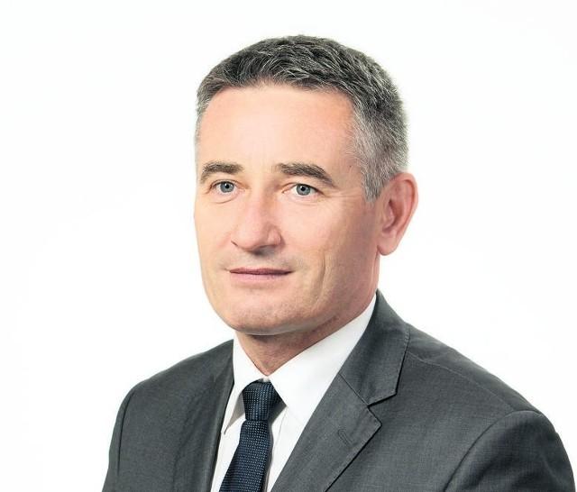 Jacek Wielorański, burmistrz Lipska.