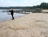 Jezioro Deczno wysycha. Poziom wody opadł o pół metra