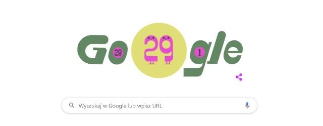 Google dało Doodle. Rok przestępny. Co to jest?