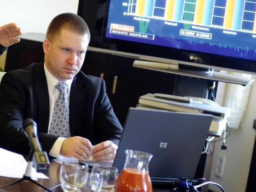 Marcin Urban, skarbnik miasta