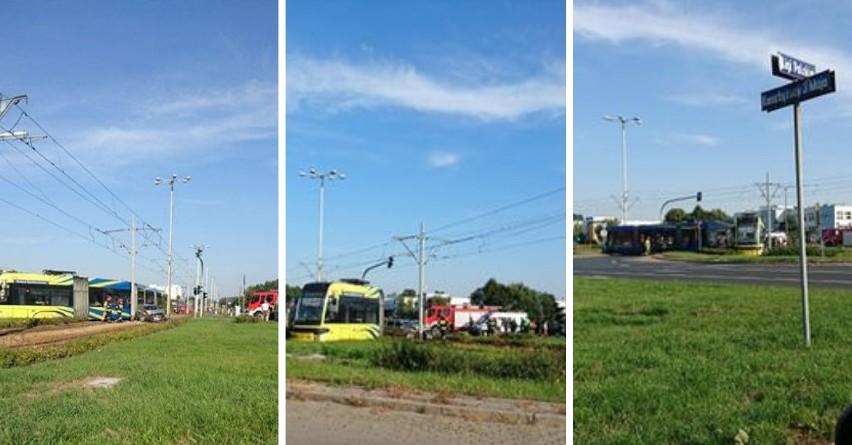 Wypadek na skrzyżowaniu Konstytucji 3 Maja i Ligi Polskiej w Toruniu