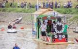 Pływadła w Raciborzu są ozdobą Festiwalu Górnej Odry. Na rzece pojawiły się statki, tratwy i kajaki