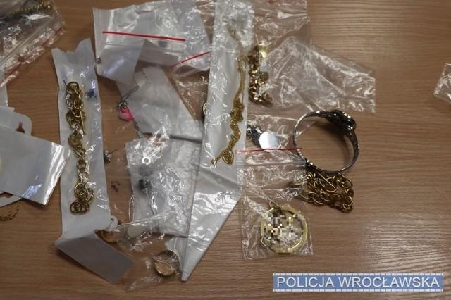 biżuteria, podróbki, policja, Wrocław.
