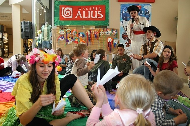Kolorowy Dzień Dziecka w Galerii Alius