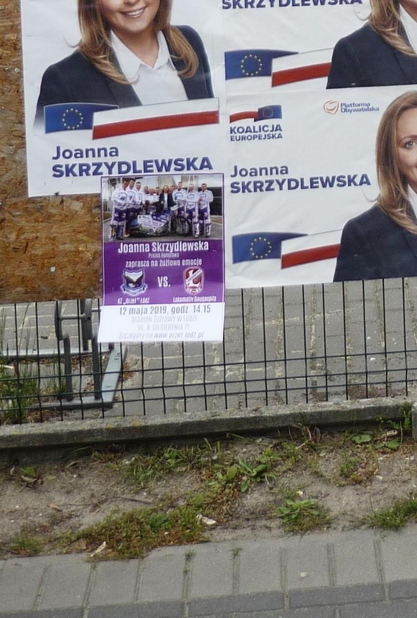 Plakaty Wyborcze Joanny Skrzydlewskiej Na Szkole W