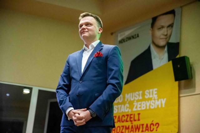 Szymon Hołownia, kandydat na prezydenta RP, we wtorek (18 lutego) otwiera swoje biuro w Opolu